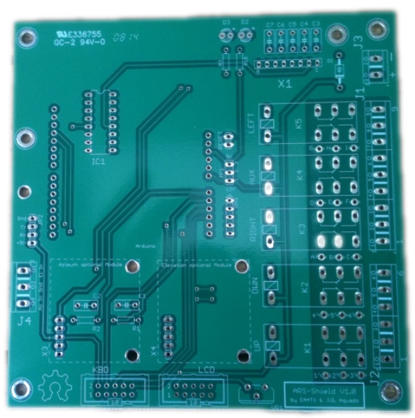 ARS-Shield PCB